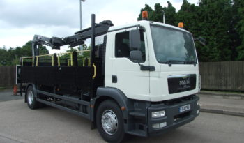 MAN TGM 18.250 WITH HMF 1420 full