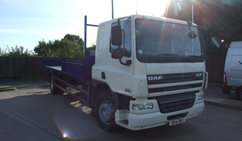 DAF 65 250 2014 22.3FT SCAFFOLD full