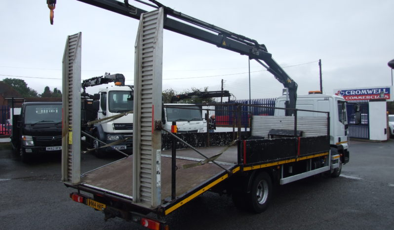 47,981 KMS RECORDED IVECO, HIAB CRANE & BEAVERTAIL, full