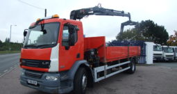 DAF 55 220 WITH HIAB 111