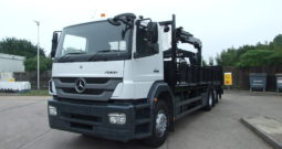 MERCEDES AXOR 26 TONNES WITH HIABB 144